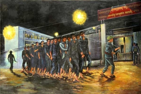 Van Nath / Pintor camboyano sobreviviente de Toul Sleng