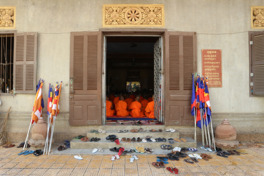 Pagoda Wat Ounalom. Phnom Penh. Marisa López