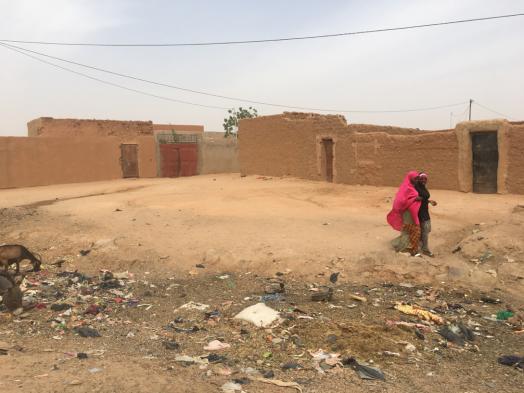 A 'guetto' neigbourhood in Agadez. Tomás Pastor