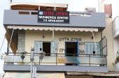 Golden Dawn`s office in Nea Alikarnassos after the anti-fascist´s attack in February 2018. All rights reserved to the original creators: cretalive.gr